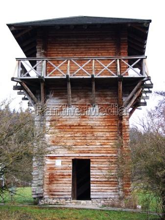 roman limes watchtower
