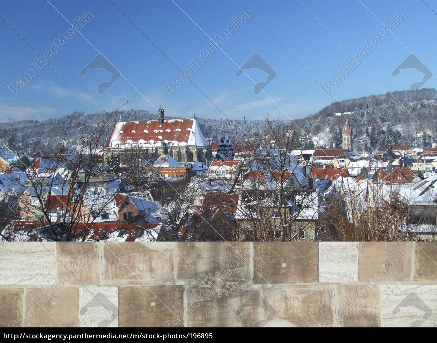 schwäbisch, gmünd, -, winter, panorama - 196895