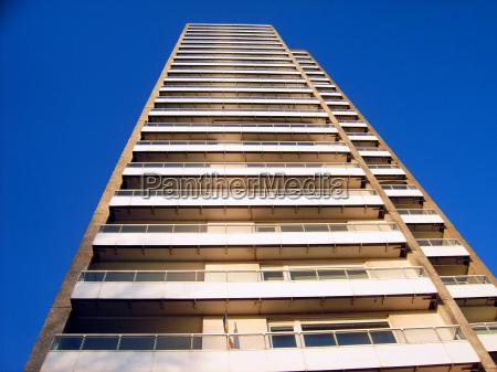 hochhaustreppe