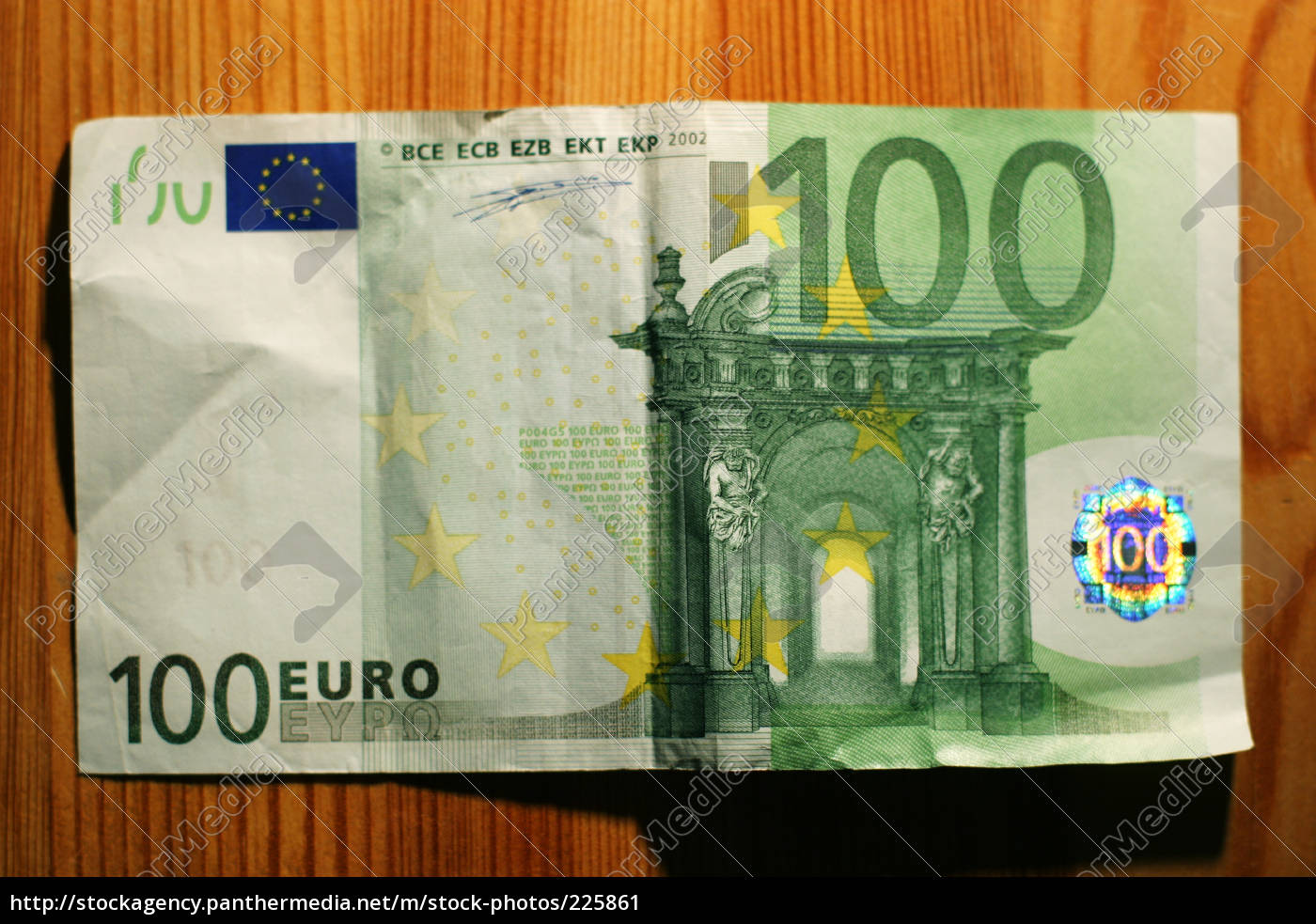 Hundert Euro Schein