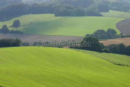 hilly cultural landscape