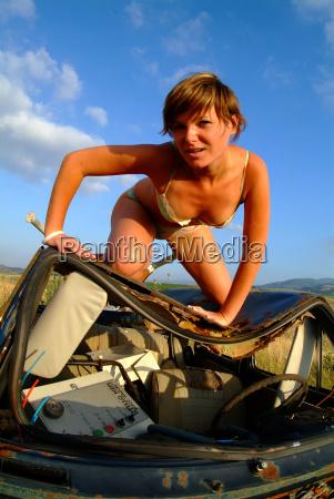 woman on autowrack 3
