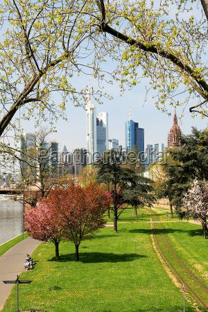 frankfurt in spring