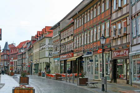 wernigerode in the rain