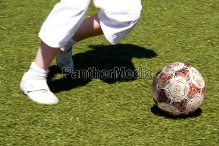 fussball kicker in weiss