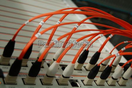 orange glasfasern