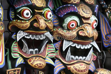 reisen glaube asien masken kontinent deal