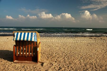 a morning on the beach