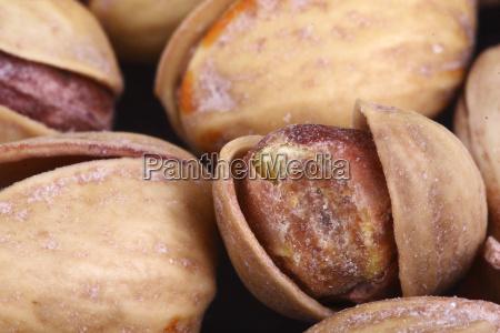 pistachios close up