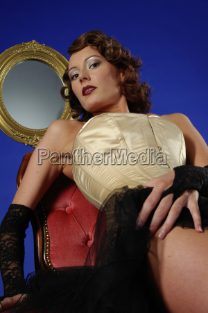 woman erotic with corset
