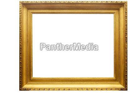 rechteckiger goldener ramen