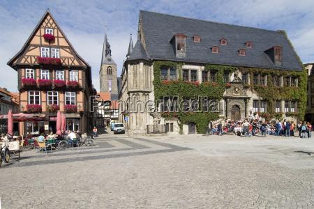 quedlinburger rathausplatz