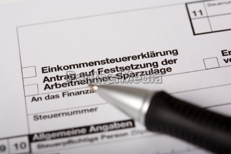 steuererklaerung ausfuellen