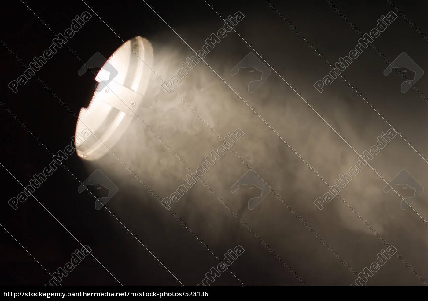 lichtstrahl, im, nebel - 528136
