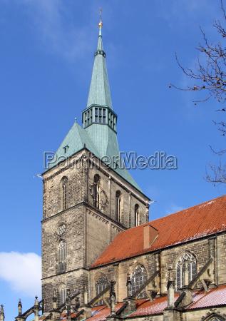 andreas church in hildesheim