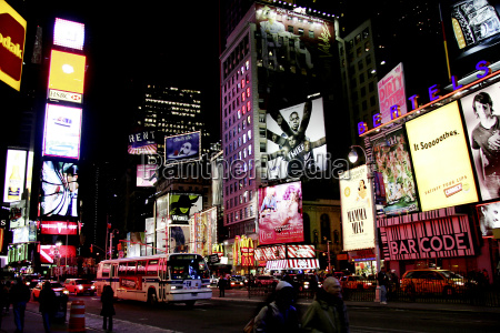 ny times square bei nacht