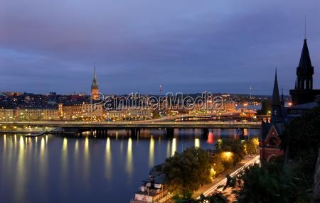stockholm bei nacht