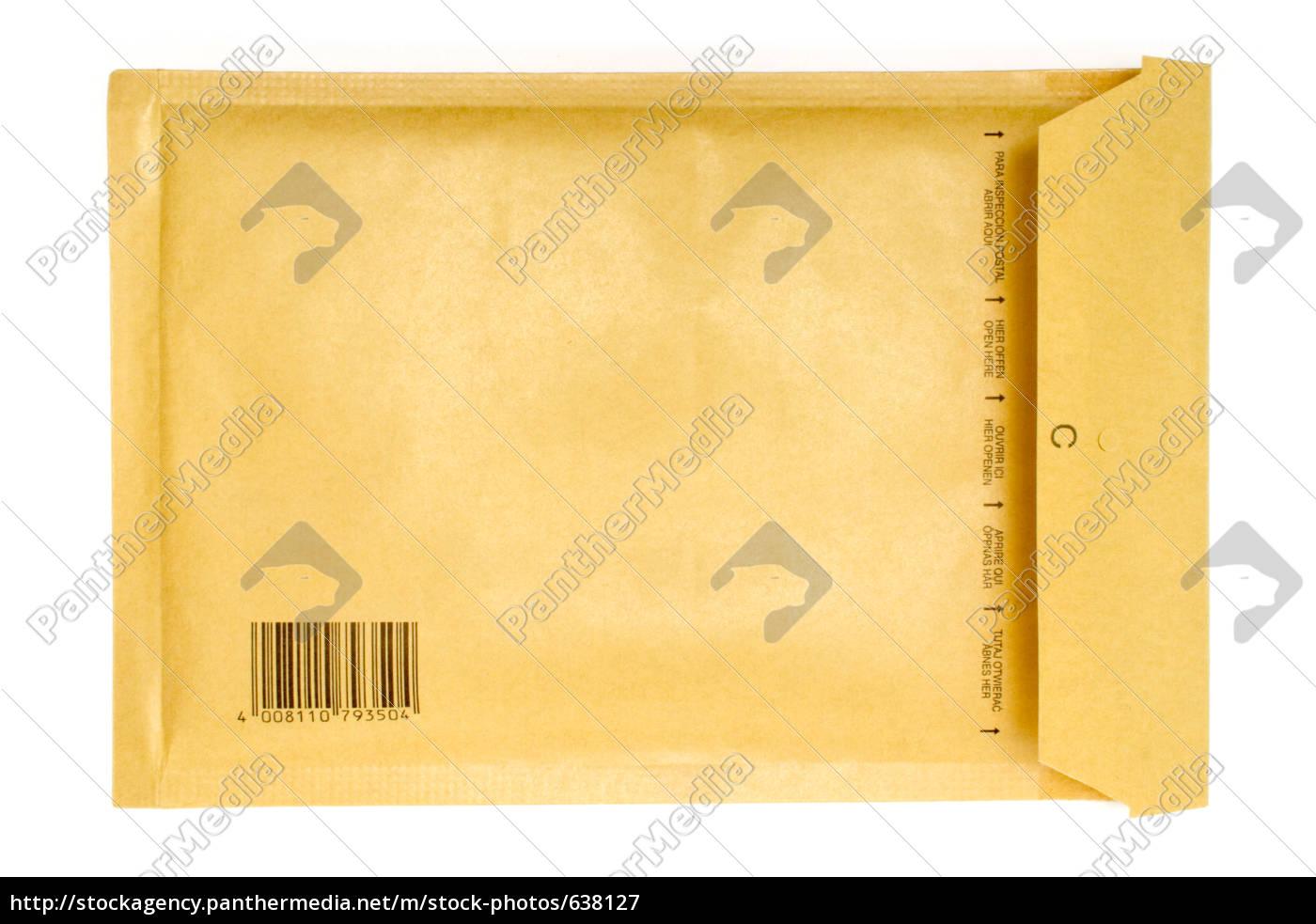 Brauner Briefumschlag Stockfoto 638127 Bildagentur Panthermedia