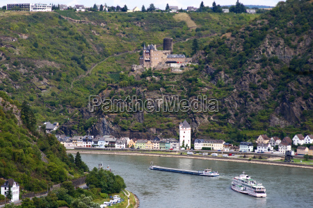 rhine and burg katz