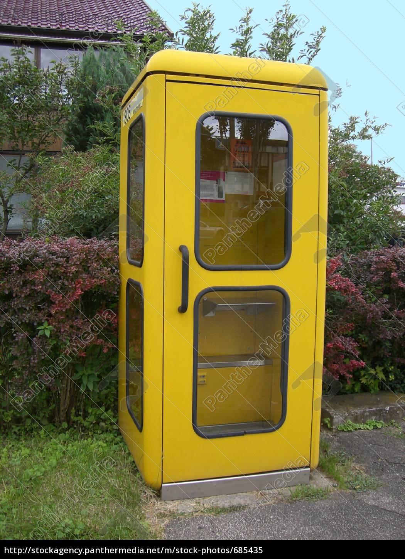 gelbe, telefonzelle - 685435