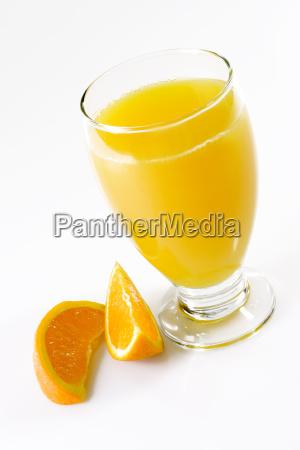 osaft mit orangenspalten