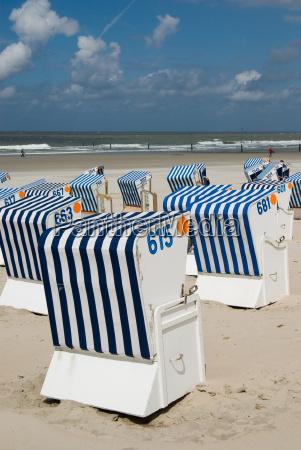 beach baskets on norderney