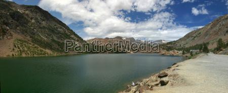 ellery lake at yosemite national park