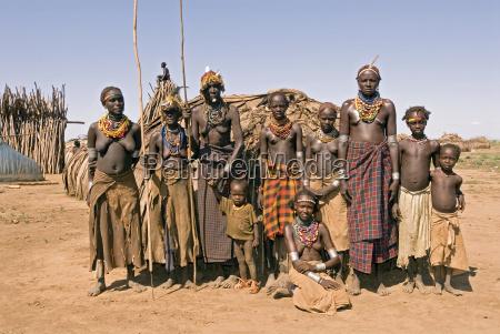 galeb dorf suedaethiopien