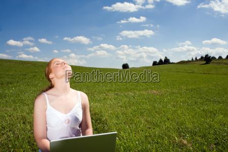 laptop und erholung