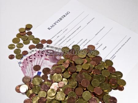 blankokaufvertrag und bargeld