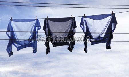 hemden im wind