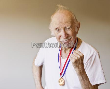 senior athlet