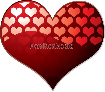transparent heart