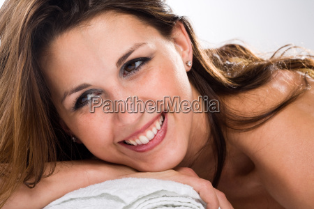 entspannt lachen