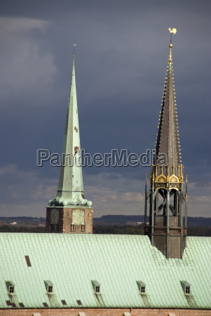 rooftop of the marienkirche