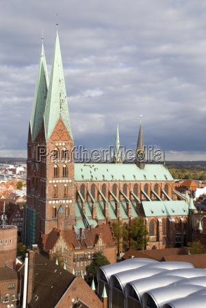 st marys church in luebeck