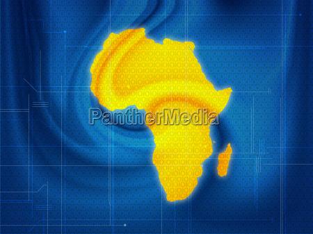 fahrt reisen afrika globus planet erde