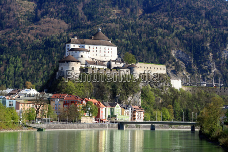 fortress kufstein with old town