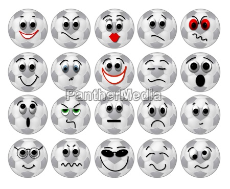 fussball smileys