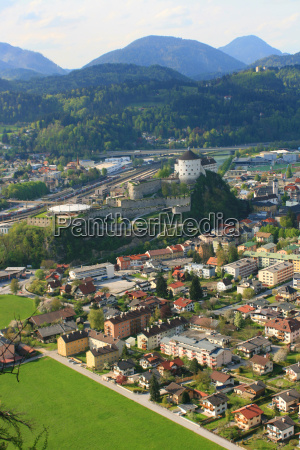 above the roofs of kufstein
