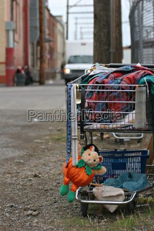 obdachlose warenkorb