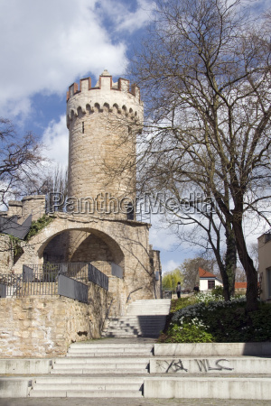 powder tower in jena
