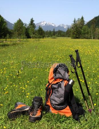 bergsportartikel im ammergebirge