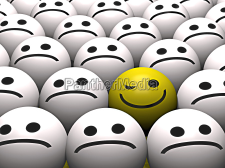 blinzeln des smiley