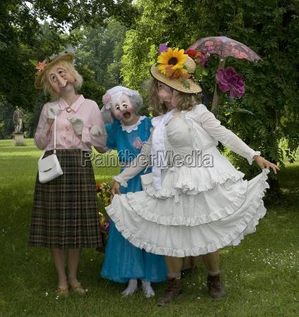 the three pretty ones