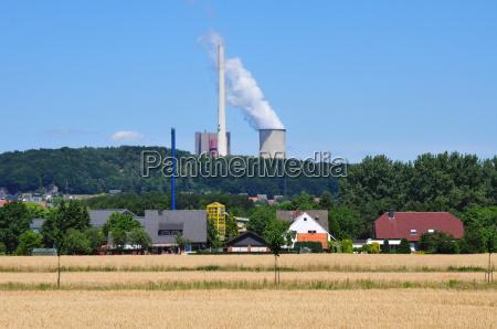 kraftwerk in ibbenbueren muensterland