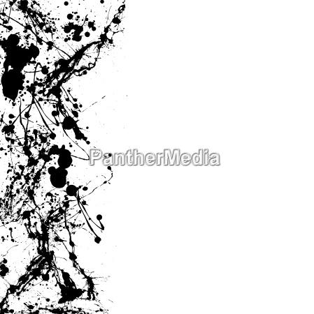 ink splat dribble