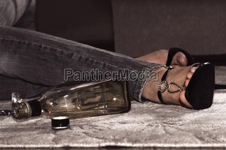 suizid durch alkohol und tabletten
