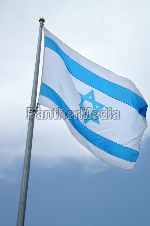 nationalflagge von israel
