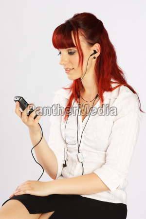 the telephone operator